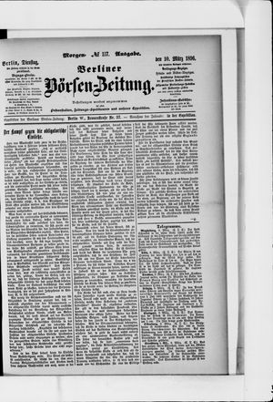 Berliner Börsen-Zeitung vom 10.03.1896