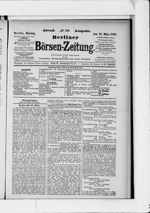 Berliner Börsen-Zeitung vom 16.03.1896