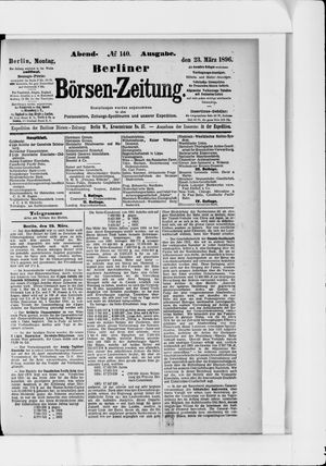 Berliner Börsen-Zeitung vom 23.03.1896