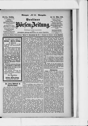 Berliner Börsen-Zeitung vom 24.03.1896