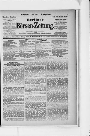 Berliner Börsen-Zeitung vom 30.03.1896