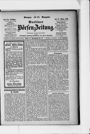 Berliner Börsen-Zeitung vom 31.03.1896