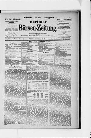 Berliner Börsen-Zeitung on Apr 1, 1896