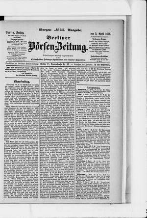 Berliner Börsen-Zeitung on Apr 3, 1896