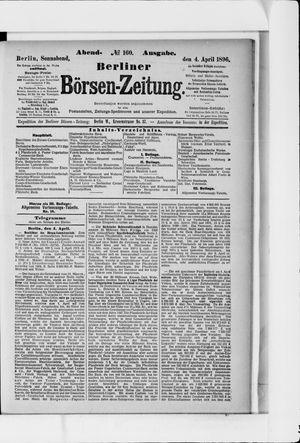 Berliner Börsen-Zeitung vom 04.04.1896