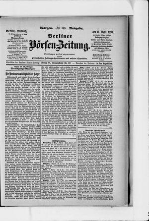 Berliner Börsen-Zeitung vom 08.04.1896