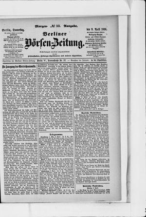 Berliner Börsen-Zeitung vom 09.04.1896
