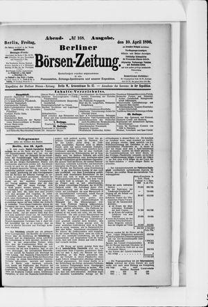 Berliner Börsen-Zeitung vom 10.04.1896