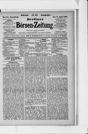Berliner Börsen-Zeitung vom 11.04.1896