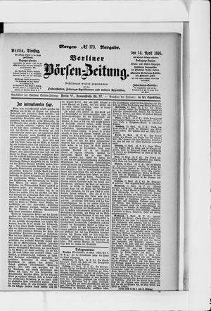 Berliner Börsen-Zeitung vom 14.04.1896