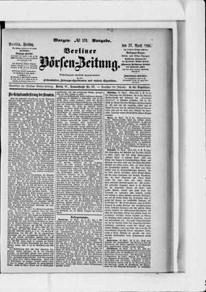 Berliner Börsen-Zeitung vom 17.04.1896