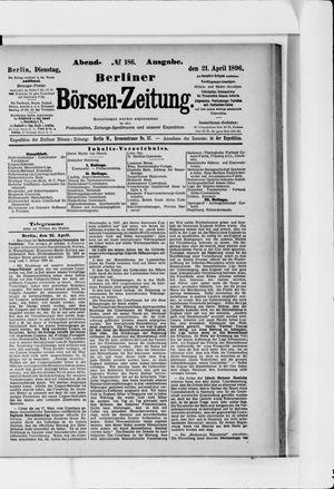 Berliner Börsen-Zeitung vom 21.04.1896