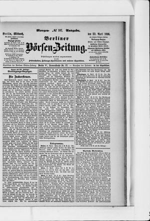 Berliner Börsen-Zeitung vom 22.04.1896