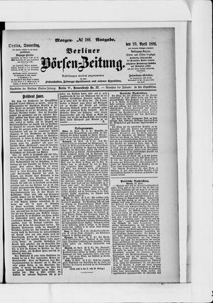 Berliner Börsen-Zeitung vom 23.04.1896