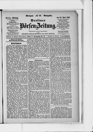 Berliner Börsen-Zeitung vom 29.04.1896