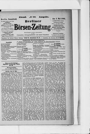 Berliner Börsen-Zeitung vom 02.05.1896