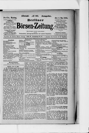 Berliner Börsen-Zeitung vom 04.05.1896