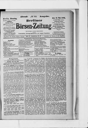 Berliner Börsen-Zeitung vom 12.05.1896