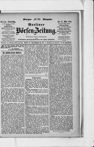 Berliner Börsen-Zeitung vom 14.05.1896