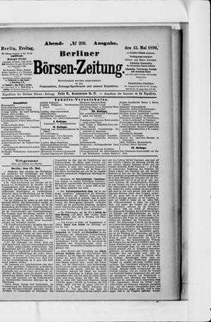 Berliner Börsen-Zeitung vom 15.05.1896