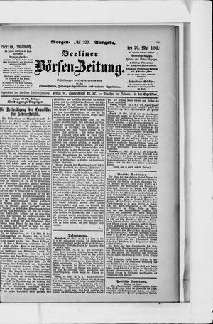 Berliner Börsen-Zeitung vom 20.05.1896