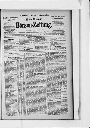 Berliner Börsen-Zeitung vom 28.05.1896