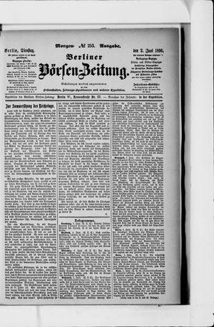 Berliner Börsen-Zeitung vom 02.06.1896