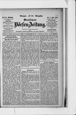 Berliner Börsen-Zeitung vom 03.06.1896