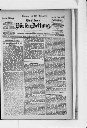 Berliner Börsen-Zeitung vom 10.06.1896