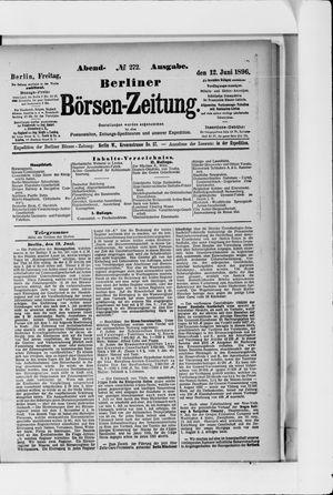 Berliner Börsen-Zeitung on Jun 12, 1896