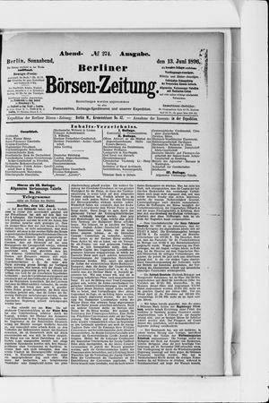 Berliner Börsen-Zeitung vom 13.06.1896