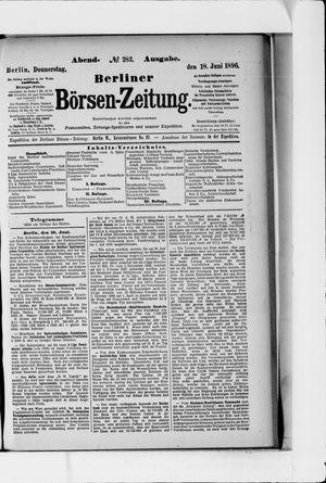 Berliner Börsen-Zeitung vom 18.06.1896
