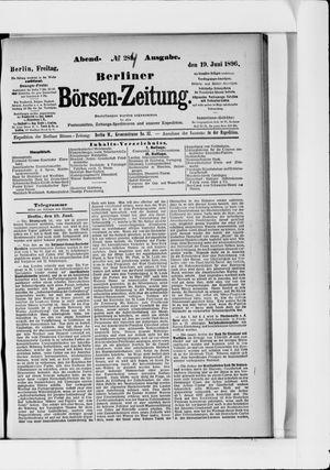Berliner Börsen-Zeitung vom 19.06.1896