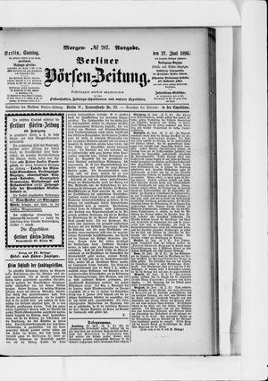 Berliner Börsen-Zeitung vom 21.06.1896