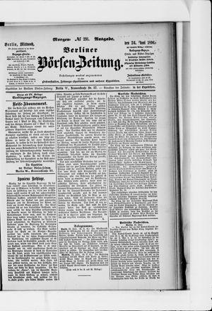 Berliner Börsen-Zeitung vom 24.06.1896