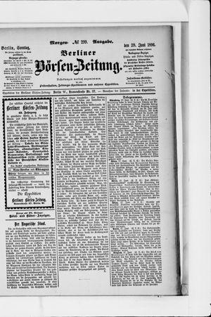 Berliner Börsen-Zeitung vom 28.06.1896
