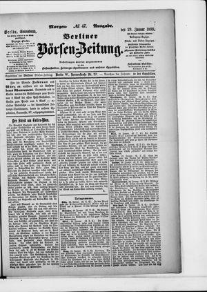 Berliner Börsen-Zeitung vom 29.01.1898