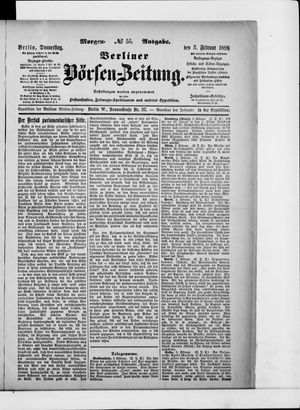 Berliner Börsen-Zeitung vom 03.02.1898