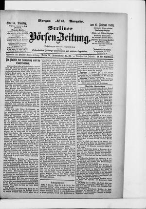 Berliner Börsen-Zeitung vom 08.02.1898