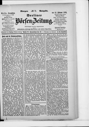 Berliner Börsen-Zeitung vom 12.02.1898