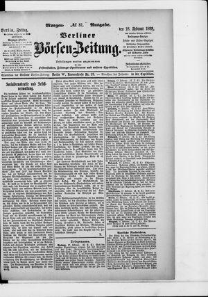 Berliner Börsen-Zeitung vom 18.02.1898