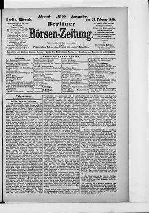 Berliner Börsen-Zeitung vom 23.02.1898