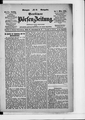 Berliner Börsen-Zeitung vom 01.03.1898