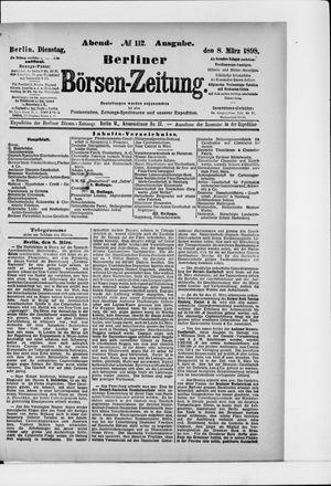 Berliner Börsen-Zeitung vom 08.03.1898