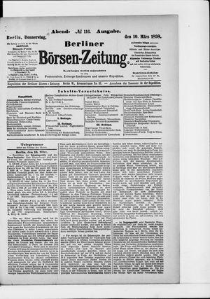 Berliner Börsen-Zeitung vom 10.03.1898