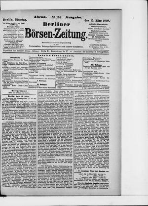 Berliner Börsen-Zeitung vom 15.03.1898