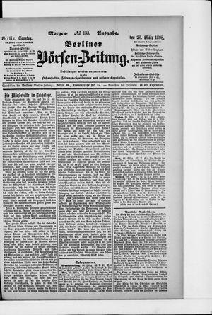 Berliner Börsen-Zeitung vom 20.03.1898