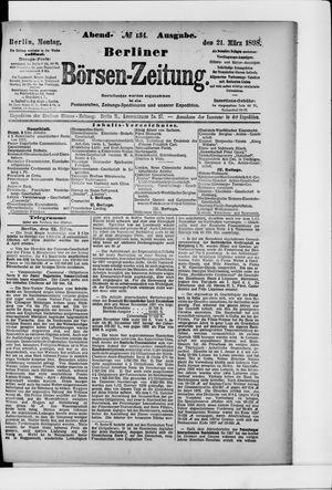 Berliner Börsen-Zeitung vom 21.03.1898