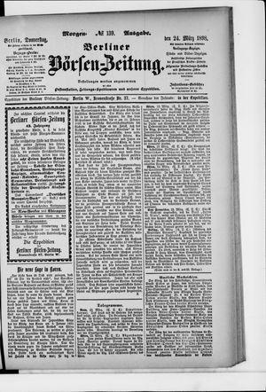 Berliner Börsen-Zeitung vom 24.03.1898