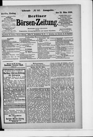 Berliner Börsen-Zeitung vom 25.03.1898